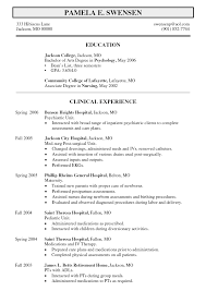 resume objective examples mental health resumes idea objective for healthcare resume