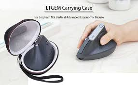 LTGEM EVA Hard Case for <b>Logitech MX Vertical</b> Advanced ...