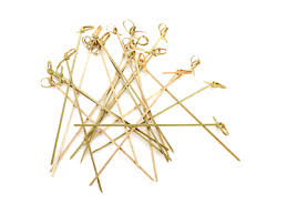Knotted Skewer <b>Bamboo 180mm</b> - BioAfrica