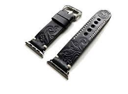 NICKSTON Black with Gray Tooled <b>Embossed Genuine</b> Luxury ...