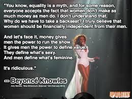 Feminist Beyoncé Says Gender Equality Is Bullsh*t... | UPWORTHY