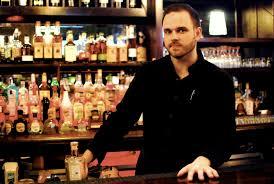 koval distillery blog featured bartender thaddeus dynakowski catching thaddeus behind his bar at karyn s was stepping a stone path through a scintillating garden of thai basil candied rosemary cinnamon vanilla