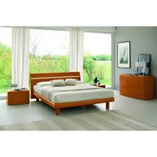 basic modern cherry italian bed basic bedroom furniture photo