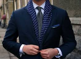 Image result for men office scarf image