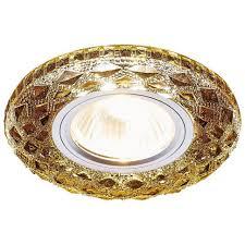 Встраиваемый <b>светильник Ambrella light</b> LED <b>S288</b> BK: купить за ...