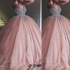 <b>2019 Champagne Tulle</b> Ball Gown Quinceanera Dress <b>Elegant</b> ...