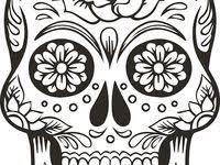 48 <b>Mexican skull</b> art ideas