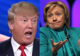Image result for hillary  berating  trump