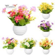 Майизер Искусственные Пластиковые <b>Цветы</b> Растения ...