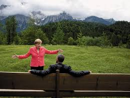 on optimism and despair by zadie smith the new york review of president barack obama and german chancellor angela merkel at the g7 summit krün