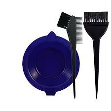 Набор для окраски волос <b>Lei</b> (ванночка + 2 <b>кисти</b>) ассорти ...