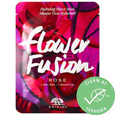 Buy Stockout <b>ORIGINS Flower Fusion Rose</b> Hydrating Sheet Mask ...