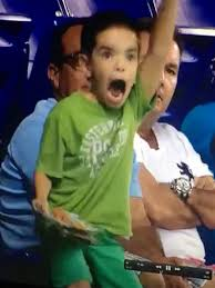 Vine of Kid Going Crazy at Miami Marlins Game : People.com via Relatably.com