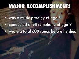 mozart german project by felicity maxwell major accomplishments