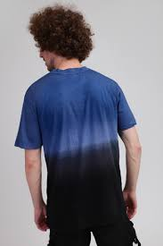 <b>Футболка URBAN CLASSICS Dip</b> Dyed Tee Mid Night Navy/Black ...