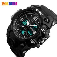 <b>SKMEI</b> New Fashion <b>Men Sports Watches Men</b> Quartz Analog LED ...