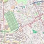 Plan Thiais carte ville Thiais - Gralon