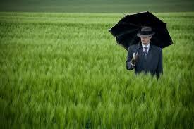 우산과 신사