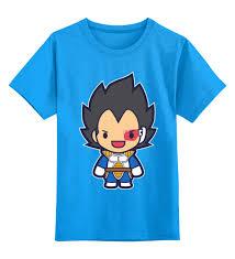 Детская футболка классическая унисекс Super <b>Saiyan</b> (<b>Dragon</b> ...