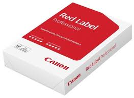 <b>Бумага</b> A4 500 шт. <b>Canon Red</b> Label Professional — купить по ...