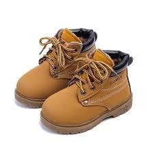 Baby Kids Boy Girl <b>PU</b> Leather <b>Snow Boots</b> Fur Lined <b>Winter Warm</b> ...