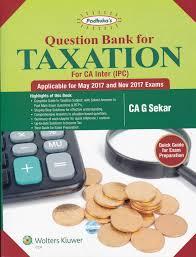 sitaraman question bank for taxation g sekar