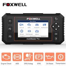 <b>FOXWELL NT614 Elite</b> OBD <b>OBD2</b> Scanner Four System EPB Oil ...