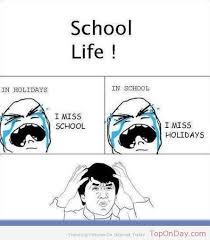 School Life | Top On Day via Relatably.com