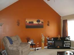 fantastic burnt orange bedroom decor