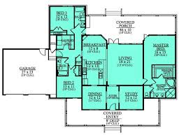 Southern charm house plan   wrap around porch   House    First Floor