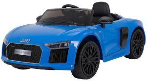 <b>Электромобиль Farfello JJ2198</b>, Audi R8 Spyder, синий — купить ...