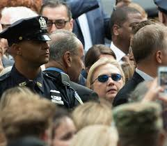 Image result for hillary blue sunglasses 9/11 pics