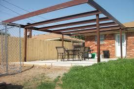 metal patio