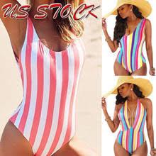 Best value <b>Rainbow Striped</b> Bikini Swimwear <b>Women</b> – Great deals ...