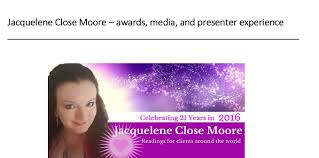 jacquelene close moore psychic clairvoyant level  presenter media