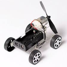 <b>4</b>-<b>Wheels Mini</b> Motor Smart Robot Car, Wind Car <b>DIY</b> Puzzle Robot ...