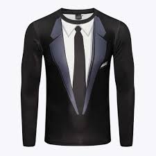 2019 Explosion Models <b>3D Stereo</b> Sexy Long sleeved T shirt Digital ...