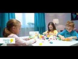 Набор для творчества GENIO KIDS-ART <b>Тесто</b>-<b>пластилин</b> ...