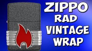 <b>Зажигалка Zippo</b> Red <b>Vintage</b> Wrap. Обзор - YouTube