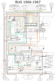 vw tech article 1966 67 wiring diagram vw 1500 sedan and convertible wiring key