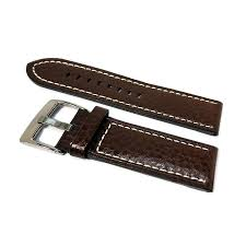 genuine leather watch straps stainless steel buckle strap band closure 16 18 20 22 24mm