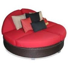 photo red chaise lounge
