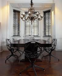 chandeliers dining room modern