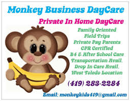 monkey business daycare toledo oh home daycare monkey business daycare
