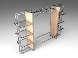 Стеллажные системы хранения для гардеробных - купить ...