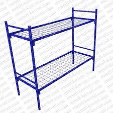<b>Кровать</b> металлическая <b>двухъярусная</b> сварная '2КС-0' <b>Эконом</b> ...