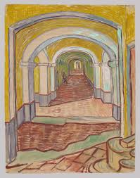 vincent van gogh the drawings essay heilbrunn corridor in the asylum