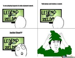 Zelda Reaction Meme skyward sword | Legend Of Zelda Skyward Sword ... via Relatably.com