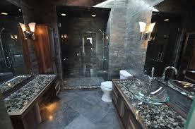 stone bathrooms slate bathroom floor tile black