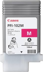 Buy <b>Canon PFI</b>-<b>102M</b> Ink <b>Magenta</b> (0897B001)